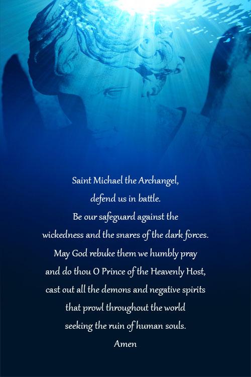 Prayer to Michael